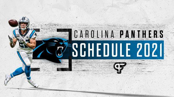 Carolina Panthers Schedule 2021