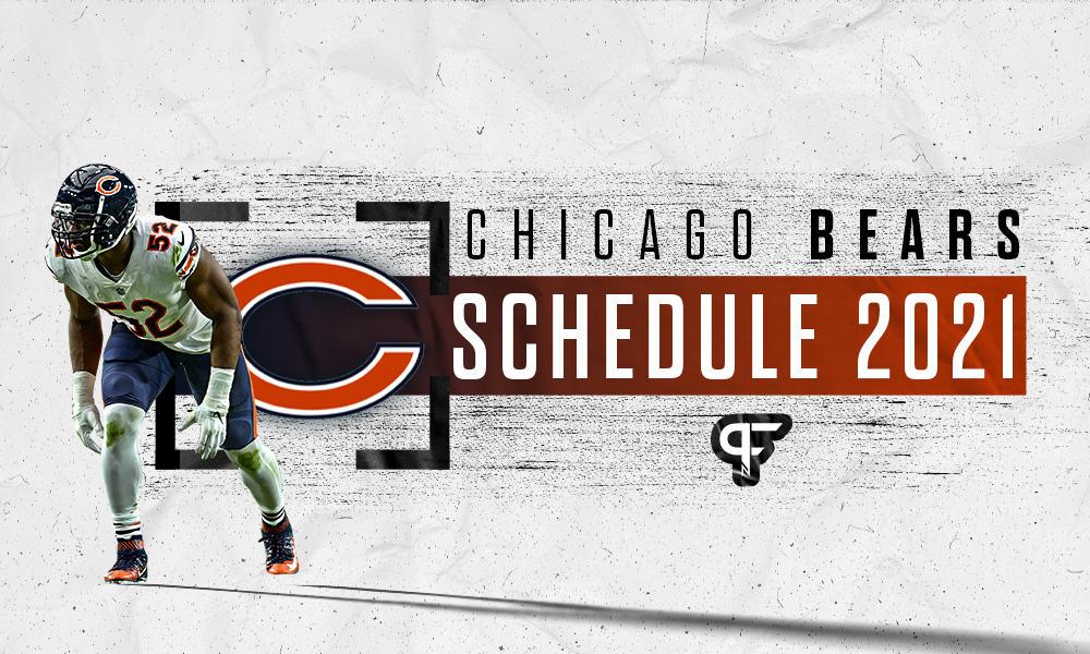 Chicago Bears schedule 2021