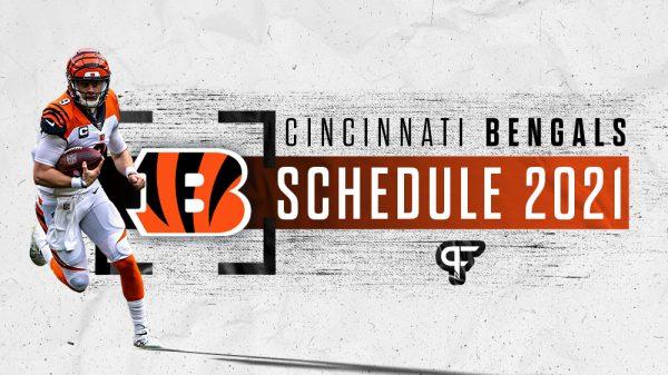Cincinnati Bengals schedule 2021