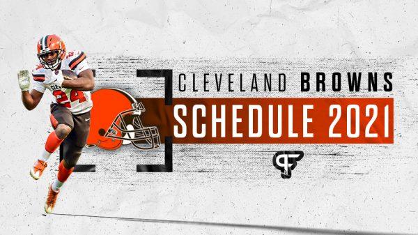 Cleveland Browns schedule 2021