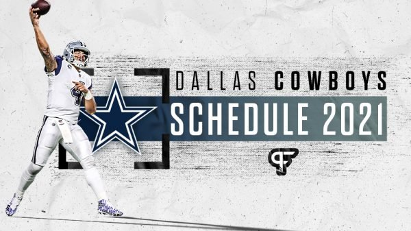Dallas Cowboys schedule 2021