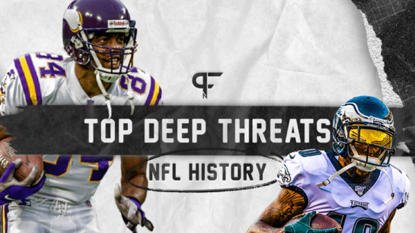 Ranking the top deep threats in NFL history from Randy Moss to Stanley Morgan