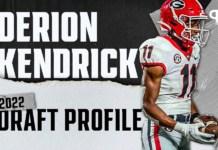 Derion Kendrick, Georgia CB | NFL Draft Scouting Report