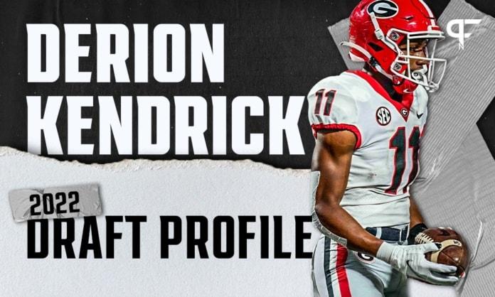 Derion Kendrick, Georgia CB   NFL Draft Scouting Report