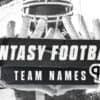 100 fantasy football team names for the 2021 NFL season