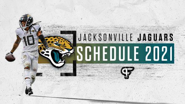 Jacksonville Jaguars schedule 2021