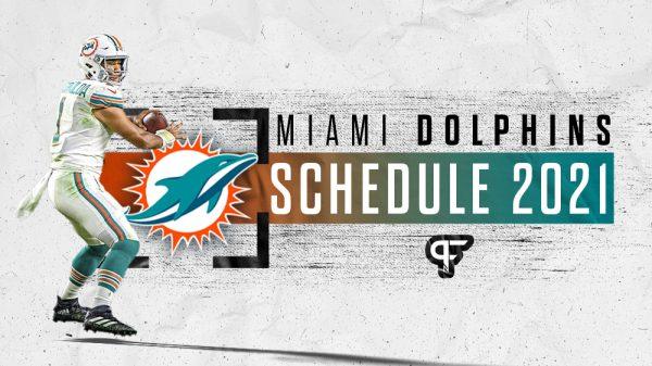 Miami Dolphins schedule 2021