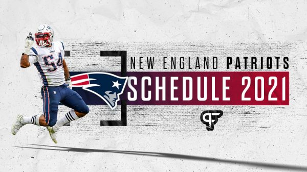 New England Patriots Schedule 2021