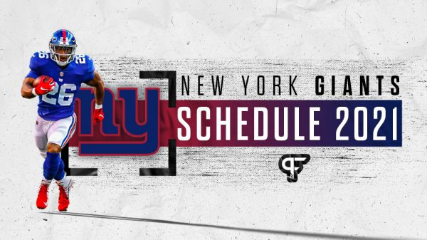 New York Giants schedule 2021