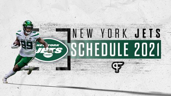 New York Jets schedule 2021