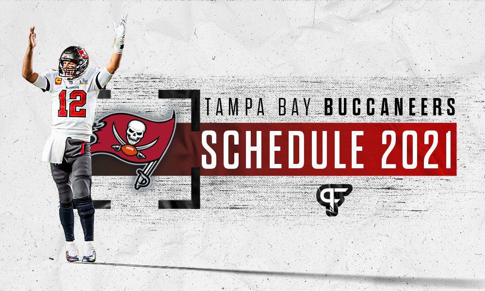 Tampa Bay Buccaneers schedule 2021