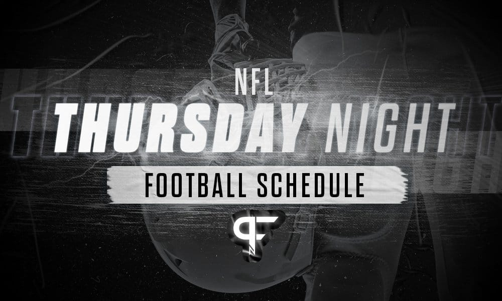 Thursday Night Football 2021: Schedule, matchups for the NFL season
