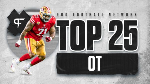Top 25 offensive tackles in the 2021 NFL season