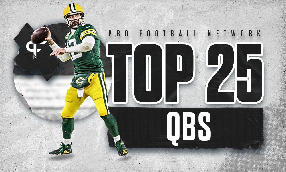 Top 25 quarterbacks heading into the 2021 NFL season