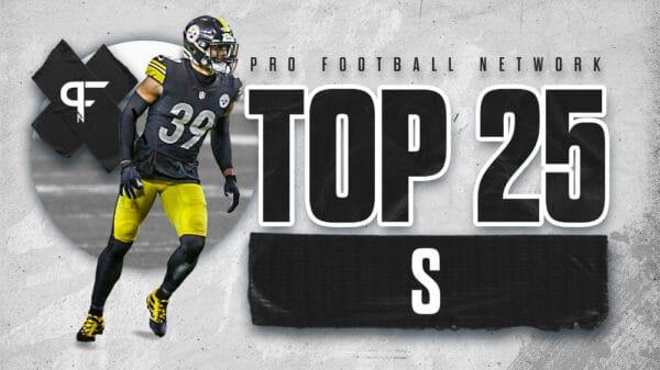 Top 25 safeties in the 2021 NFL season
