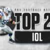 Top 25 guards and centers in the 2021 NFL season