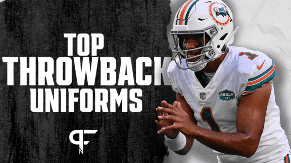 NFL Throwback Uniforms: Ranking the 15 best vintage jerseys in league history