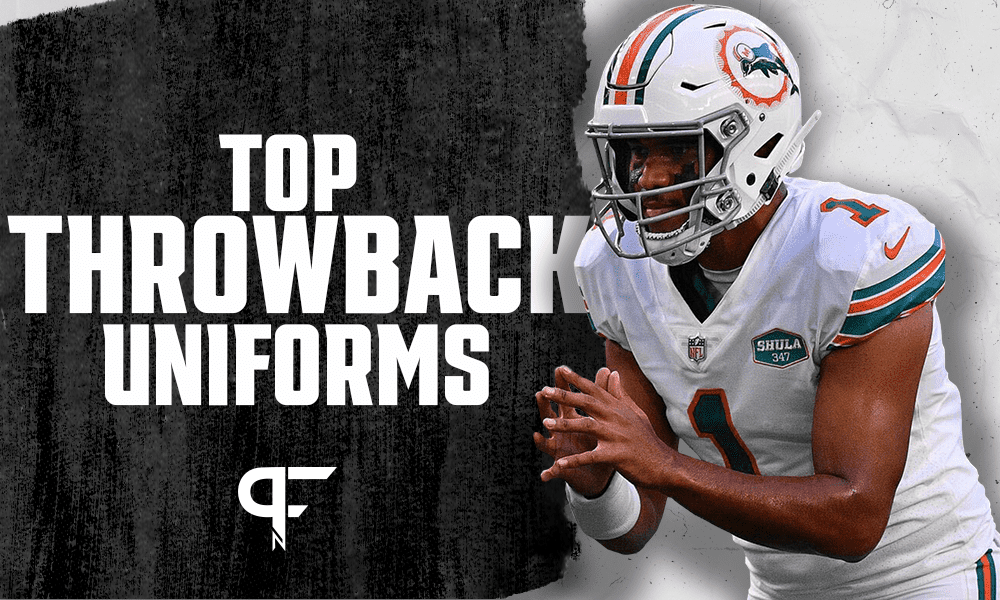 NFL Throwback Uniforms: Ranking the 15 best vintage jerseys in ...