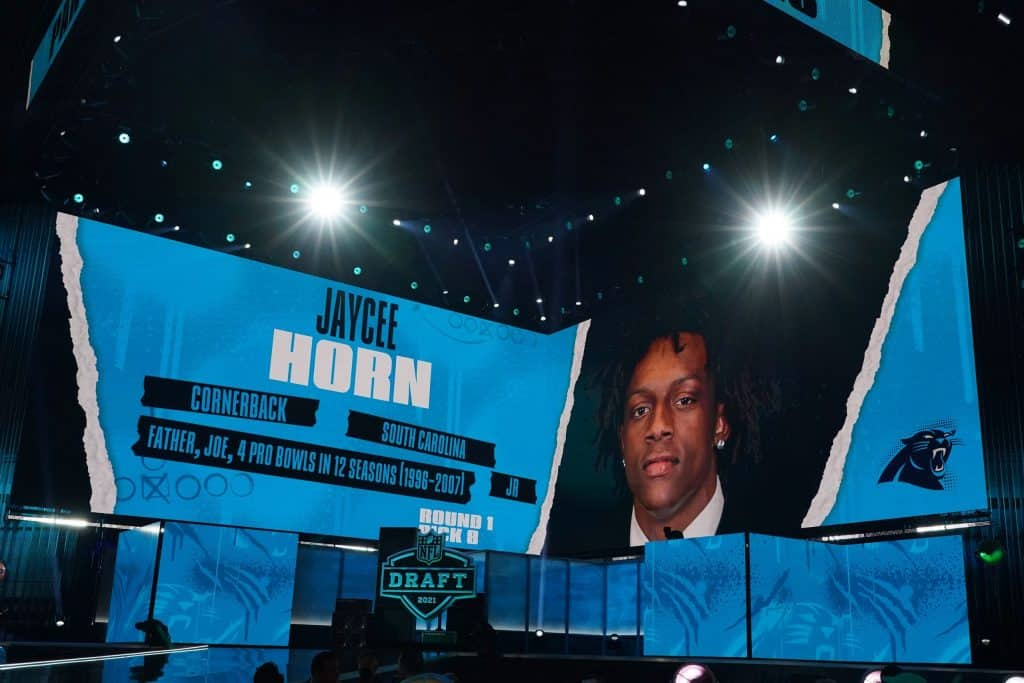 Did the Carolina Panthers win the 2021 NFL Draft?