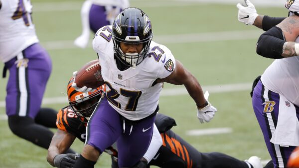 Is J.K. Dobbins RB1 in the Baltimore Ravens backfield for 2021?