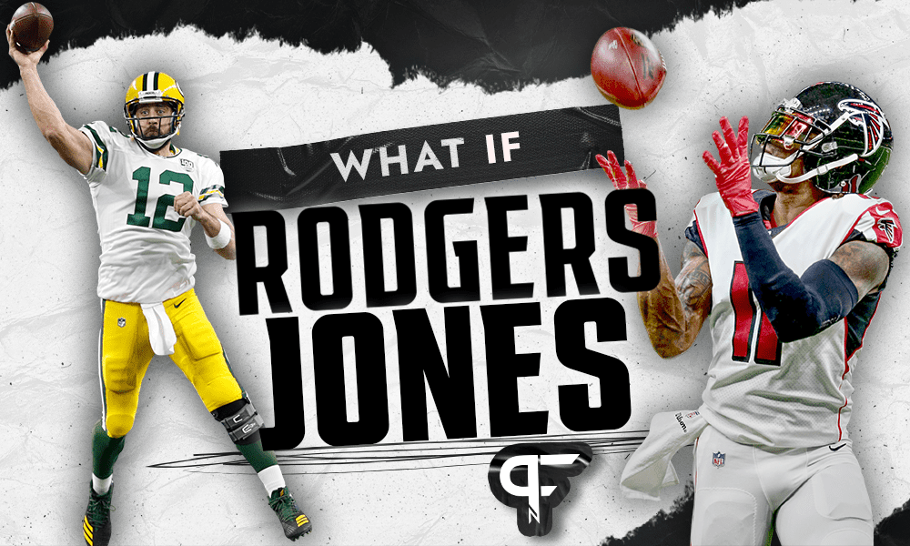 NFL Rumors: Could a Julio Jones trade keep Aaron Rodgers with the Packers?