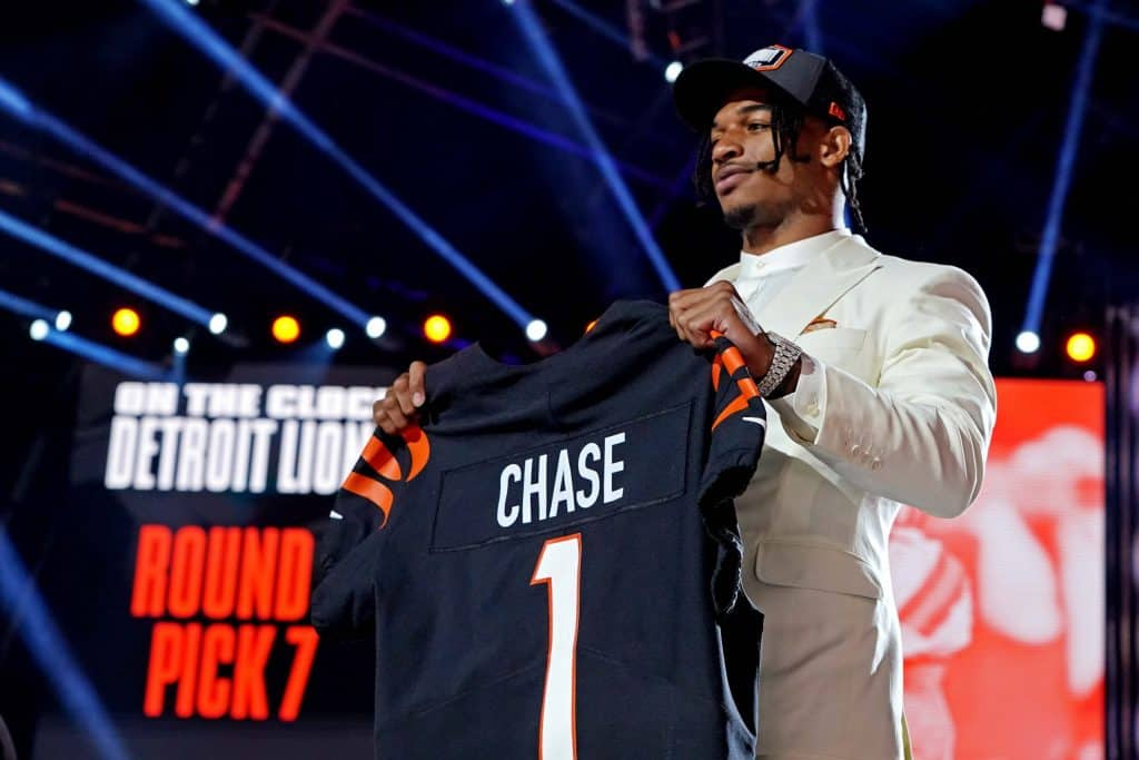 Wide receivers drafted in the 2021 NFL Draft