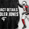 Chandler Jones' contract details, salary cap impact, and bonuses