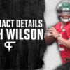 Zach Wilson's Contract Details, Salary Cap Impact, and Bonuses