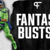 Top 9 fantasy football busts in 2021 include Russell Wilson and Miles Sanders