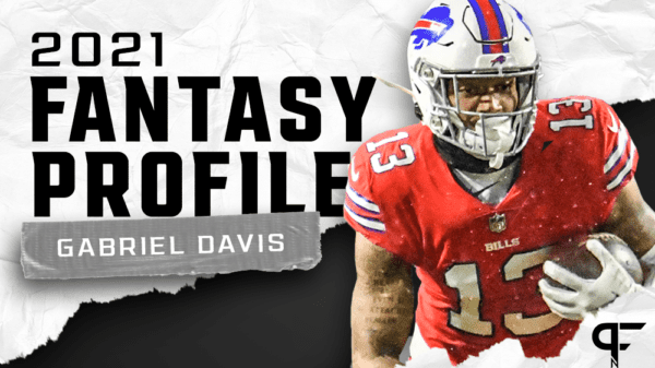 Gabriel Davis' fantasy outlook and projection for 2021