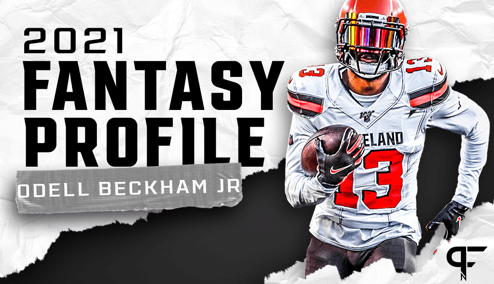 Odell Beckham Jr.'s fantasy outlook and projection for 2021