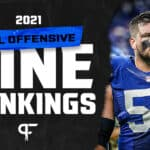 Best offensive lines in the NFL ranked for 2021