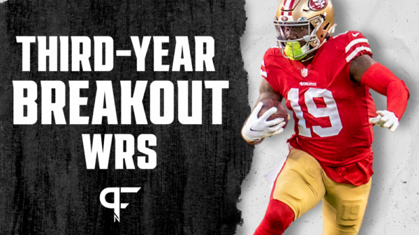 Third-year wide receiver sleepers to watch for fantasy in 2021