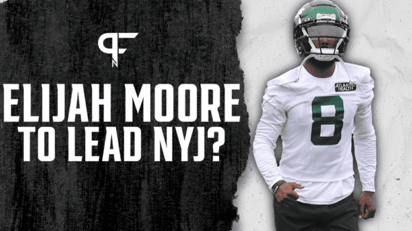 Is Elijah Moore set to lead the Jets' offense as a rookie in 2021?