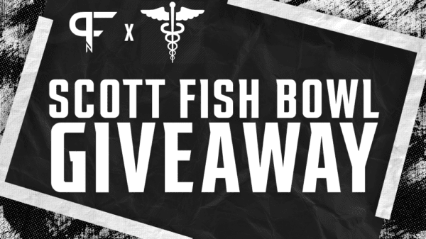 Scott Fish Bowl 11 entry giveaway to a frontline healthcare worker