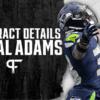 Jamal Adams' contract details, salary cap impact, and bonuses