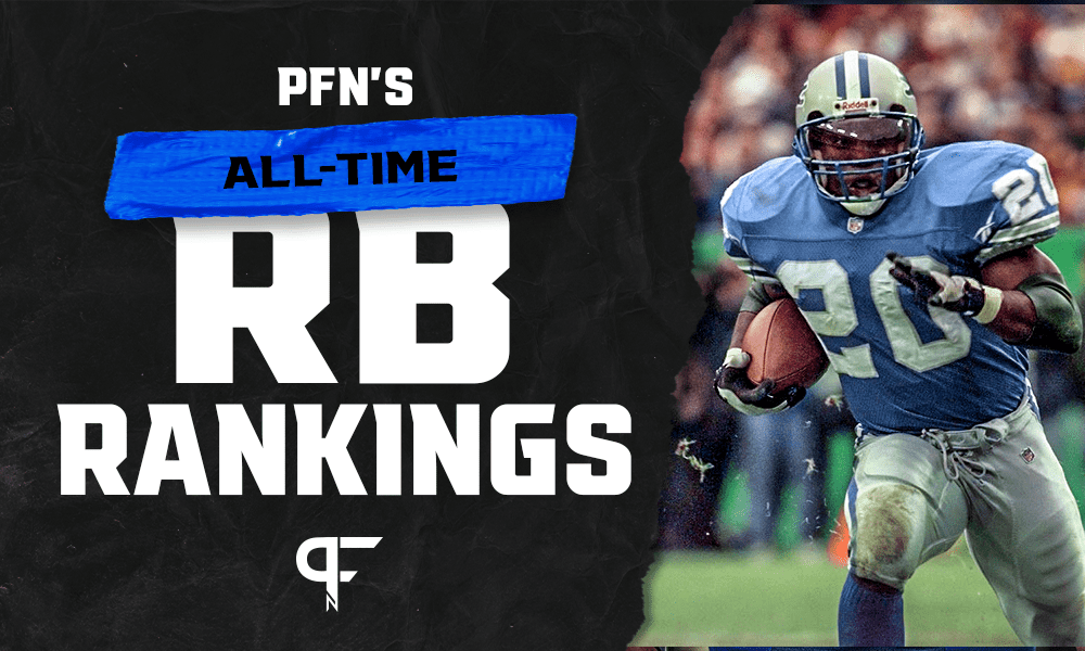Top 11 running backs of all time, from Barry Sanders to O.J. Simpson