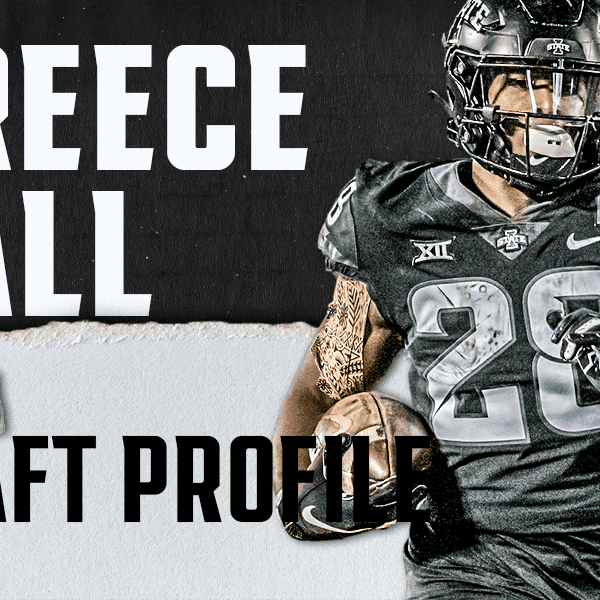 Breece Hall, Iowa State RB   NFL Draft Scouting Report