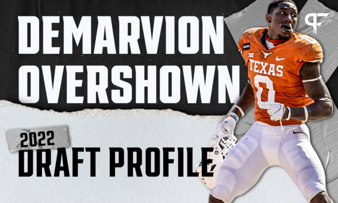 DeMarvion Overshown, Texas ILB | NFL Draft Scouting Report