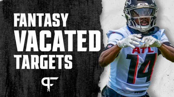 Fantasy Football Vacated Targets: Opportunities for your fantasy teams in 2021