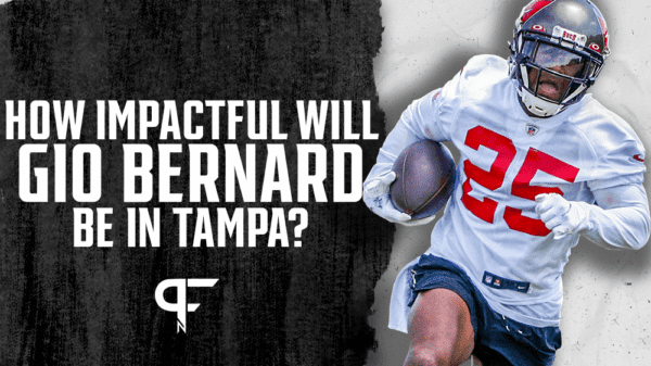 Will Gio Bernard compete for fantasy touches in the Buccaneers' backfield?