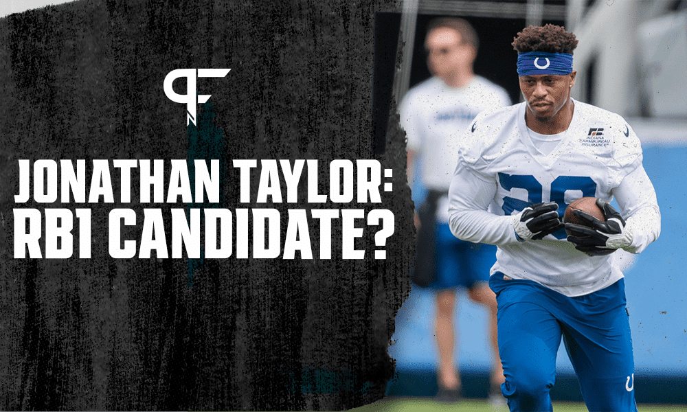 Will Jonathan Taylor be a reliable RB1 for the Colts' offense in 2021?