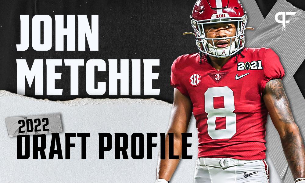 John Metchie III, Alabama WR | NFL Draft Scouting Report