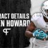 Xavien Howard's contract details, salary cap impact, and bonuses