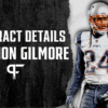 Stephon Gilmore's contract details, salary cap impact, and bonuses