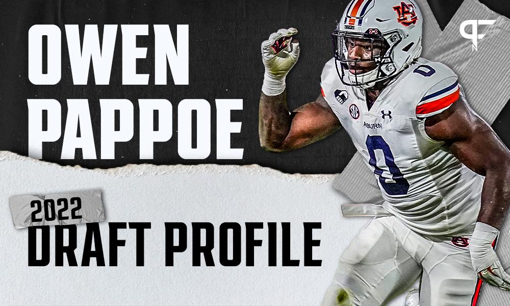 Owen Pappoe, Auburn LB | NFL Draft Scouting Report