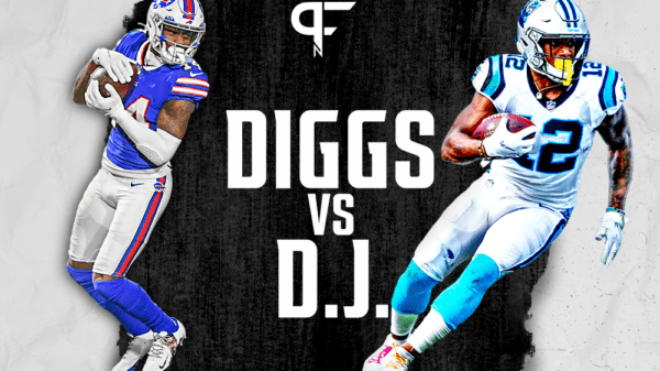 Stefon Diggs vs. D.J. Moore: Maryland receivers lighting the NFL on fire