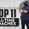 Top 11 NFL head coaches of all time from Bill Belichick to Tony Dungy