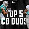 Ranking the best cornerback duos heading into the 2021 NFL season