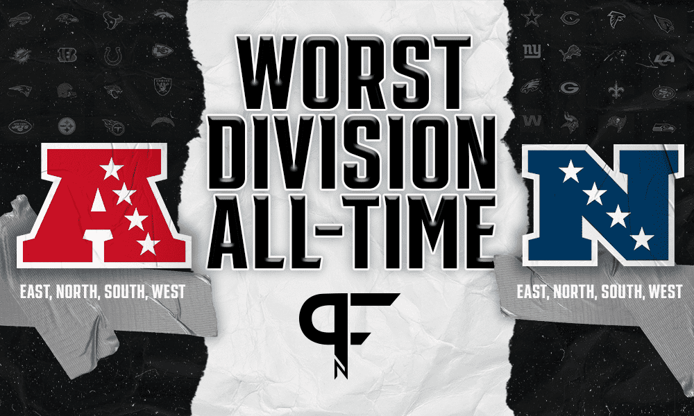 What is the worst division in NFL history?